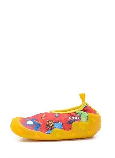 First Step Happy Dino Kaydırmaz Havuz ve Deniz Ayakkabısı-F-483 Renkli